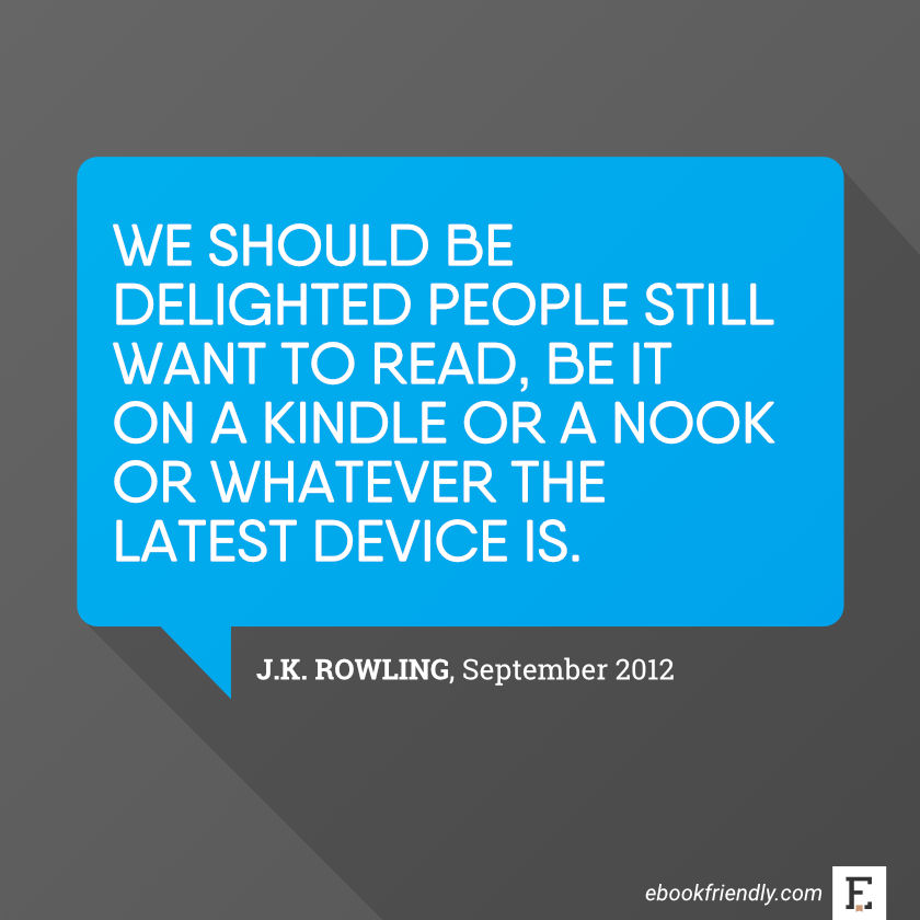 J.K.-Rowling-about-Kindle-Nook-and-reading
